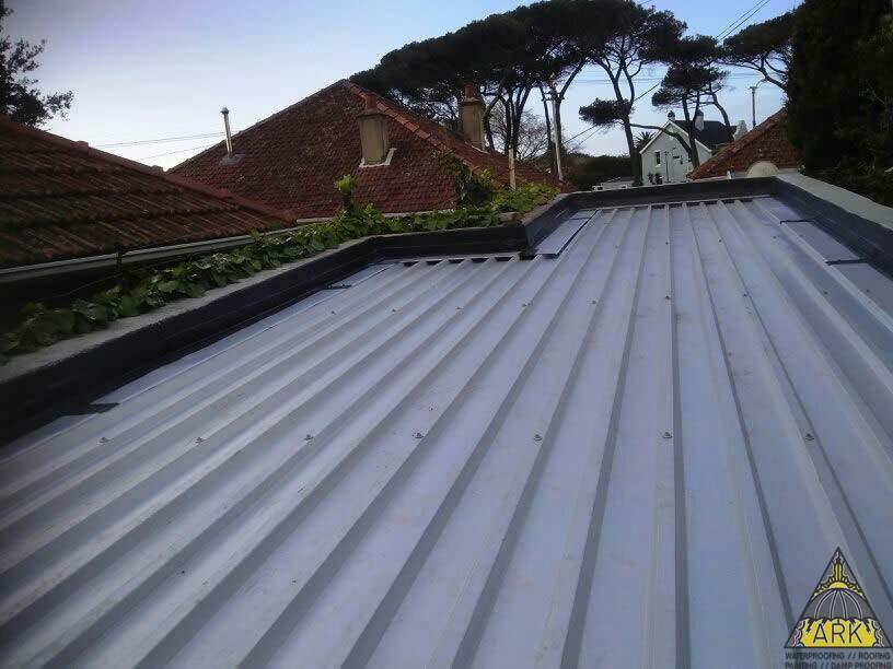 Ibr Roof Zincalume Project Ark Waterproofing Cape Town