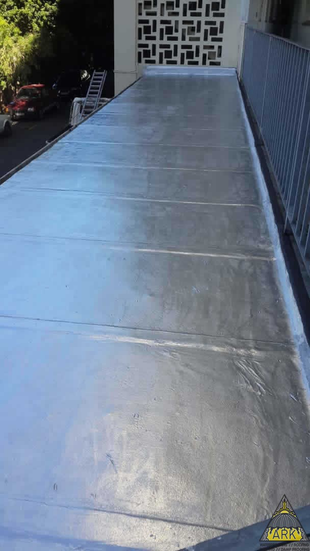 Flat roof waterproofing may 19 project ark for Flat roof waterproofing paint