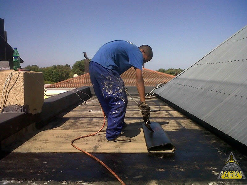Flat Roof Waterproofing/Torch On/ 2 x New Full Bores Installed