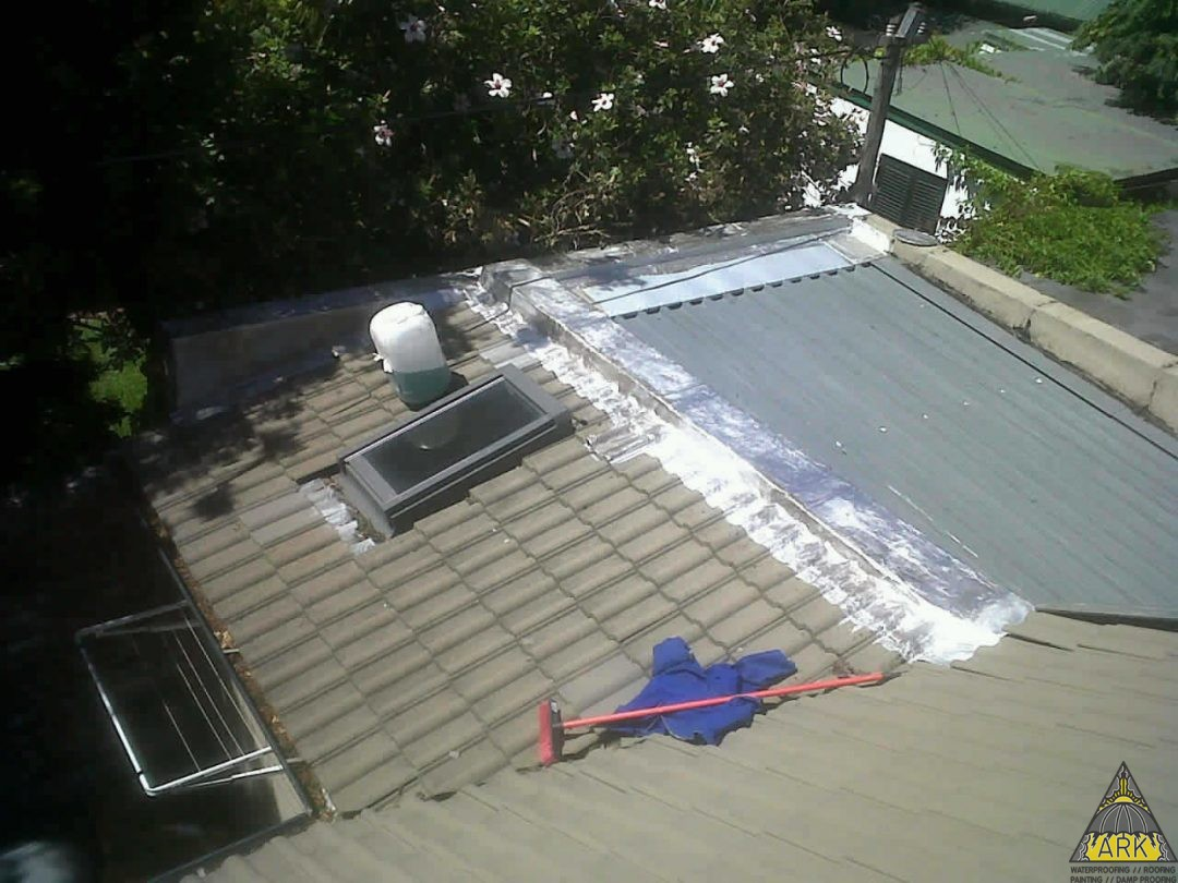 Waterproofing/Torch On System/Patch Repairs/Waterproofing Parapet Walls