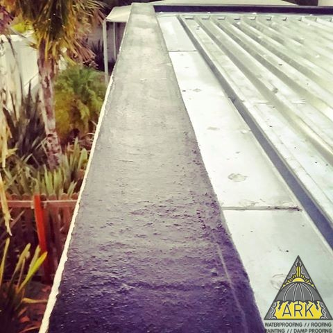 Parapet Wall Waterproofing.