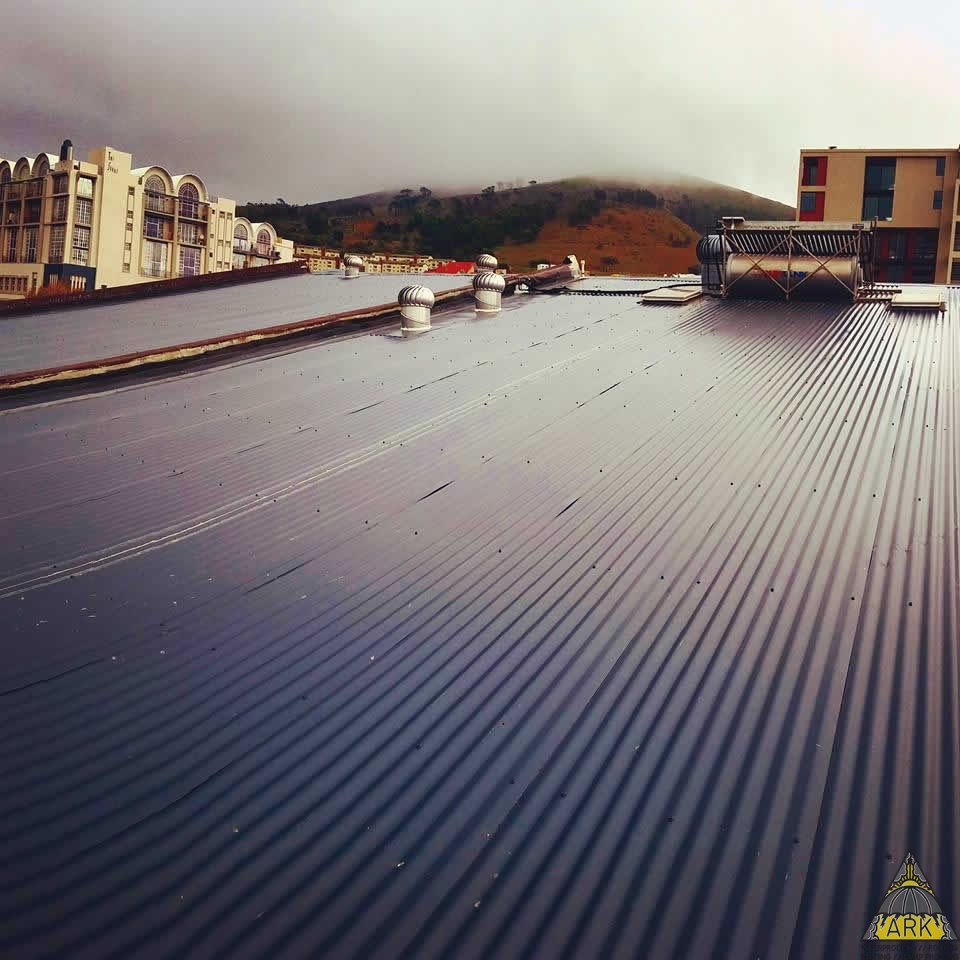 Corrugated Colourbond Re Roof.