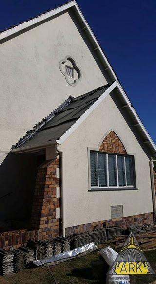 Tiled Roof Underlay system installed.