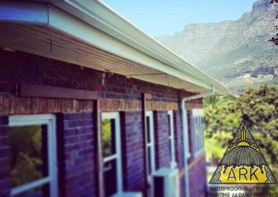 Fascia board and Seamless Aluminum Gutters Installed 250m.