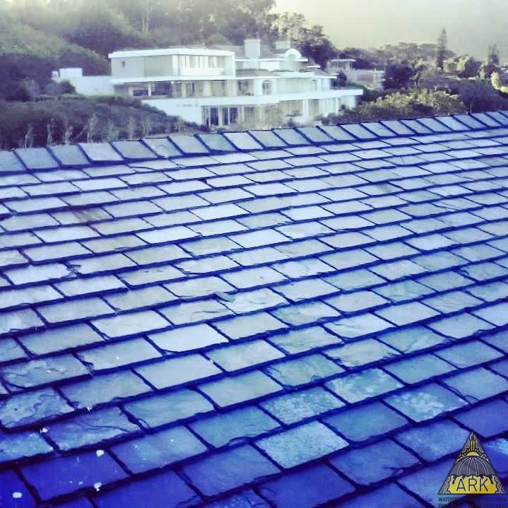 Stone Slate Roof Repairs.