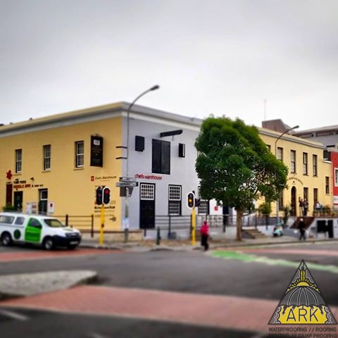 Exterior Redecoration of Chef Warehouse and the Cape Heritage Hotel.