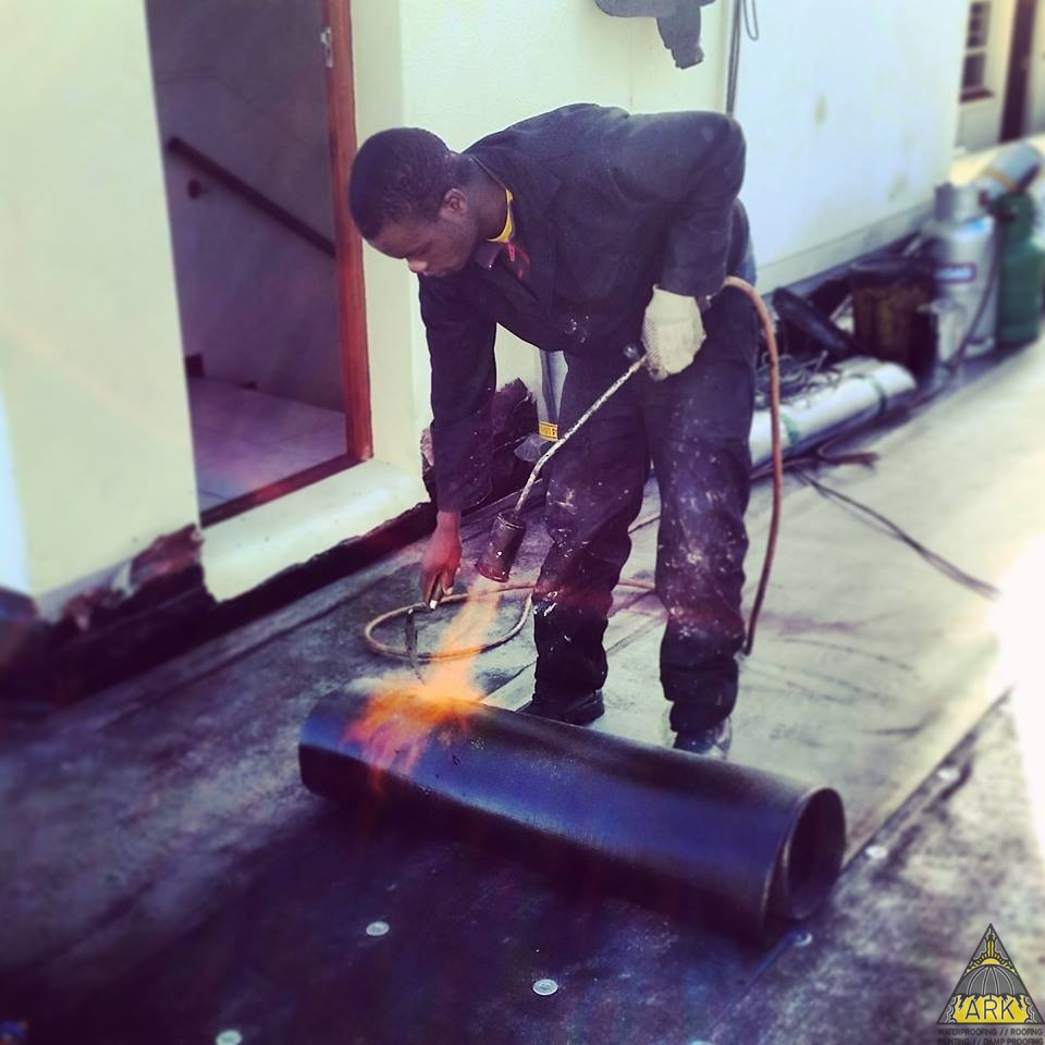 Wooden Roof Torch On Waterproofing Roofing Nail Interdek