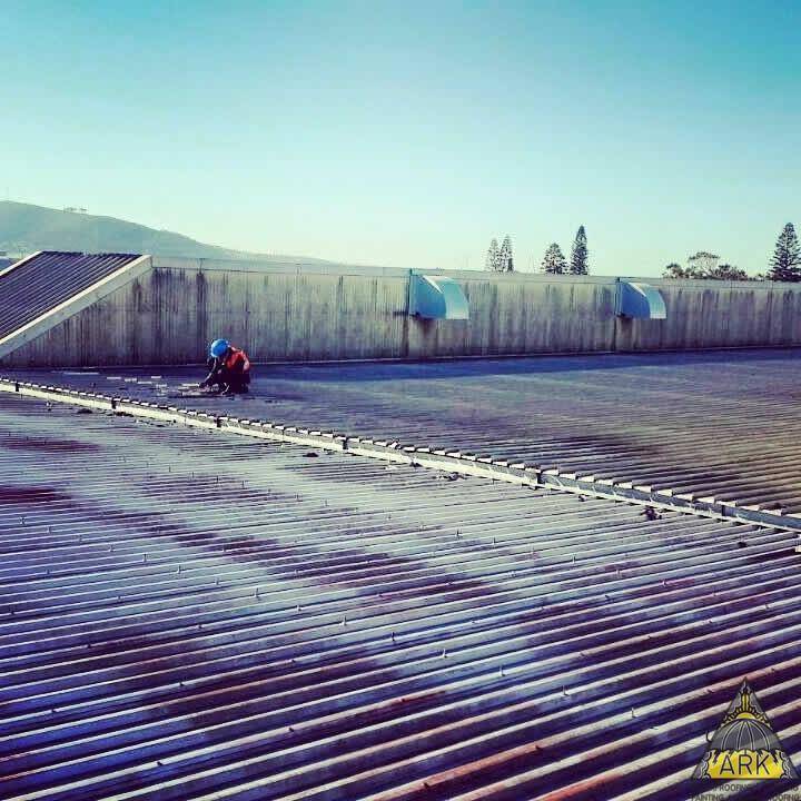 Major roof repairs