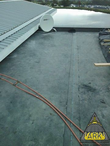 EPDM Membrane Waterproofing.