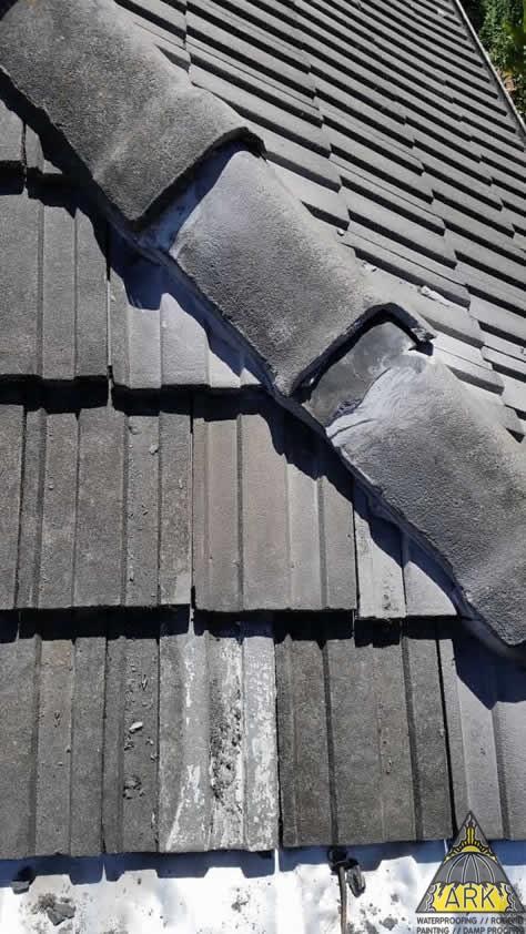 Tiled Roof Repair Pesky Leak Refitted Amp Waterproofed