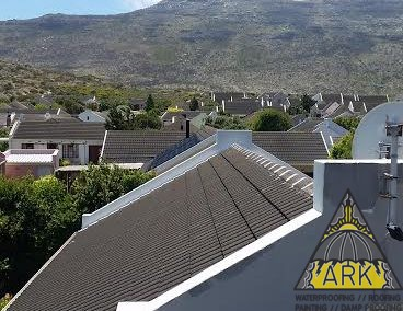 Roof repairs/Tiled roof waterproofing /Parapet walls waterproofed.