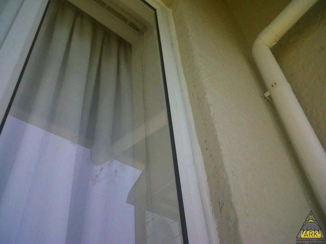 General  sealing  of windows.