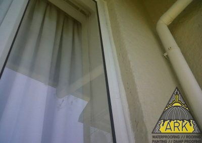 General  sealing  of windows.