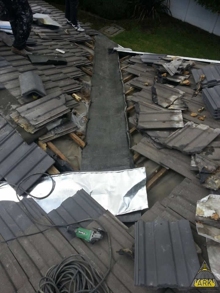 Valley Amp Ridge Waterproofing Tiled Roof Repairs Project