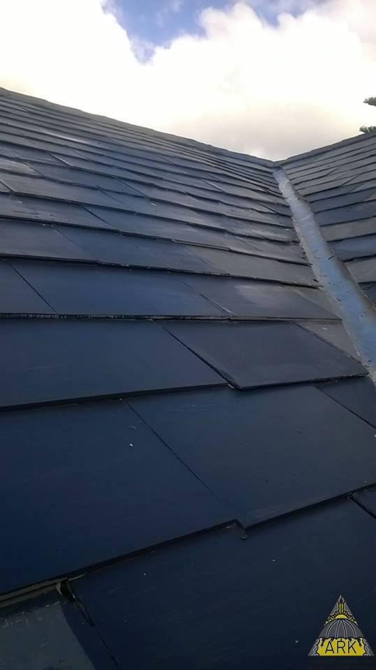 Slate Roof Valley Amp Tile Repairs Tokai Project Ark