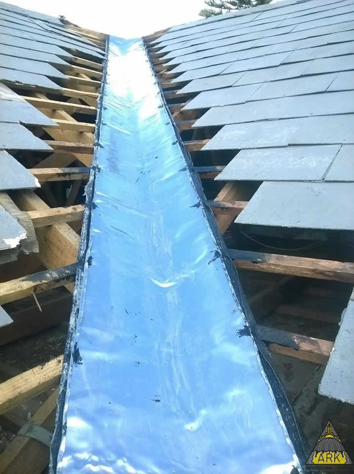 Slate Roof Valley Amp Tile Repairs Tokai Project Ark