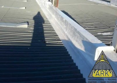 Waterproofing Of Three Box Gutters.