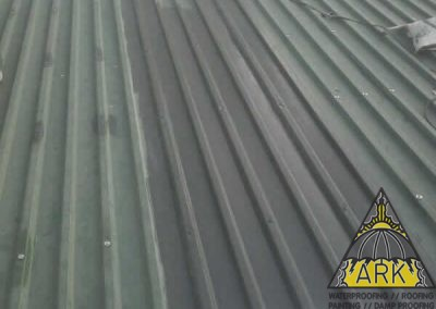 Metal Roof Redecoration.