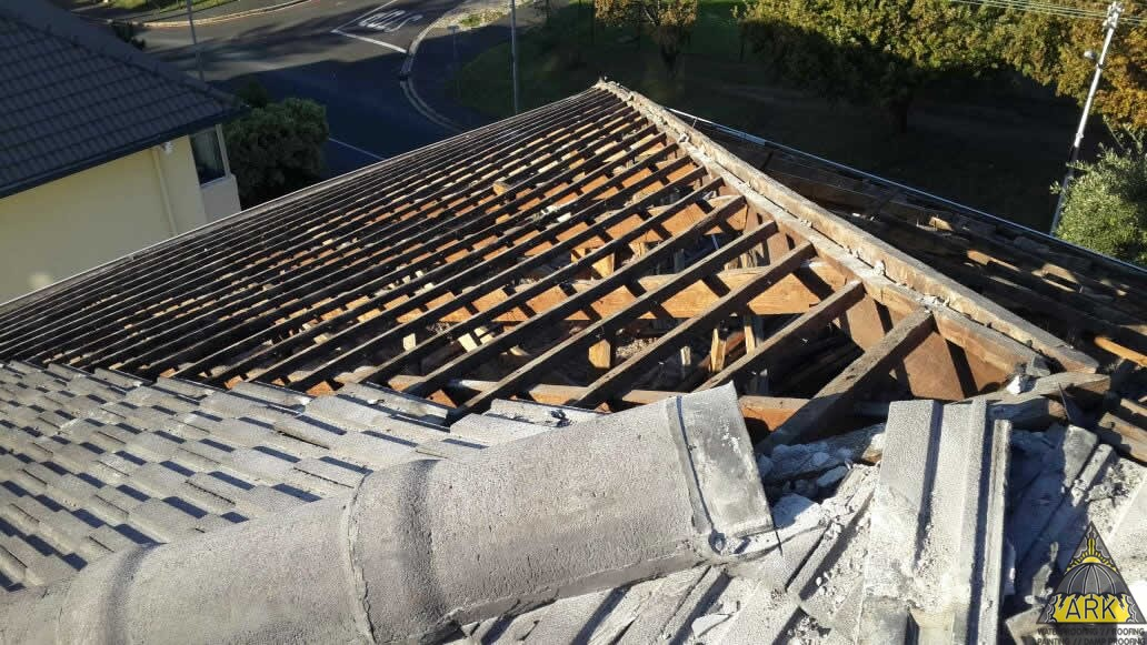 Tiled Roof Sagging Repairs Underlay Fitment Project