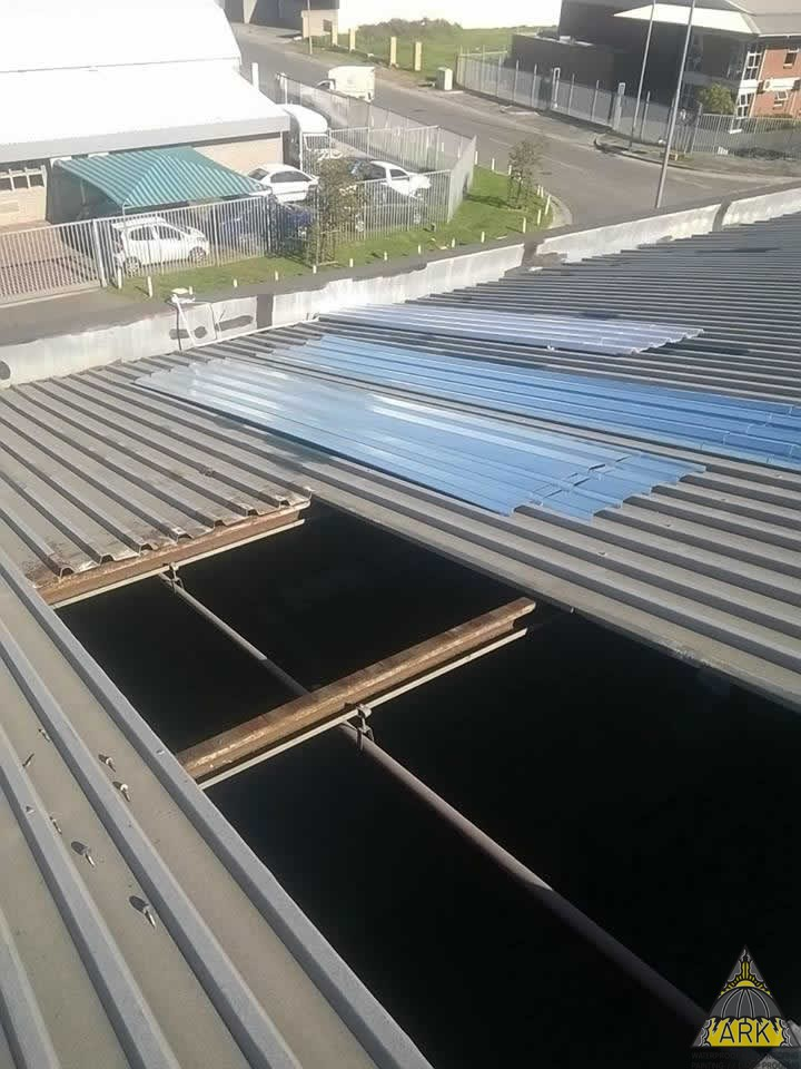 Skylight Amp Metal Roof Repairs Project Ark