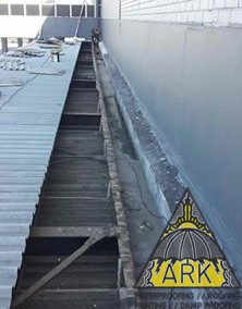 Box gutter waterproofing