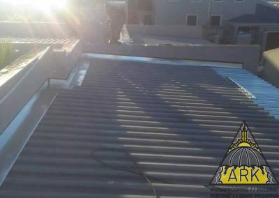 Metal roof repairs West Beach.