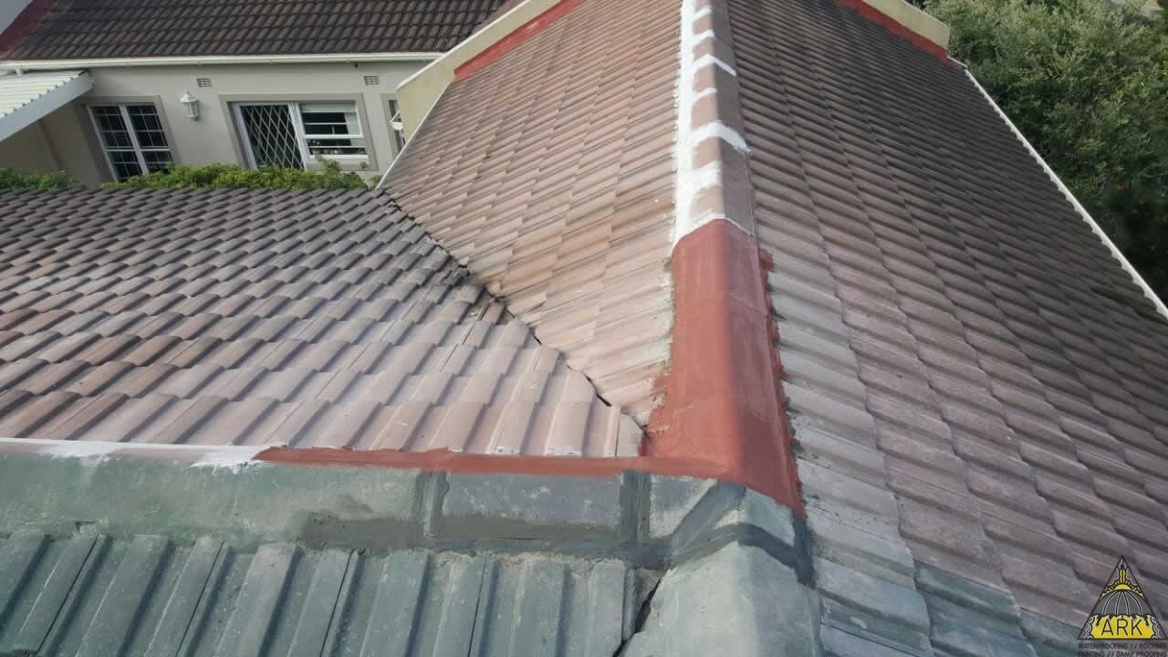 Valley Repair Tiled Roof Repair Lakeside Project Ark