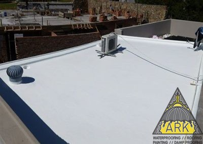 Liquid Rubber waterproofing.