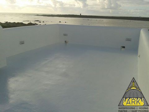 Liquid Rubber Waterproofing Cool Roof Energy Star Rated