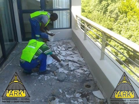 Balcony Waterproofing.