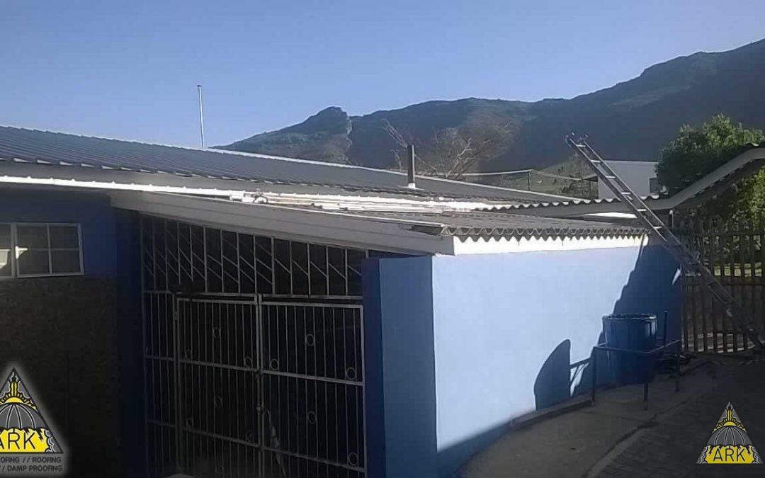 Saflok roofing. Asbestos removal.
