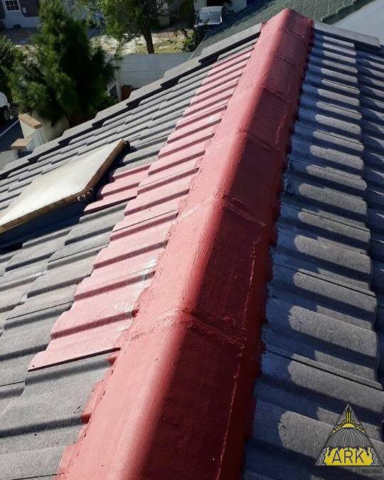 Small #tiledroofrepair.