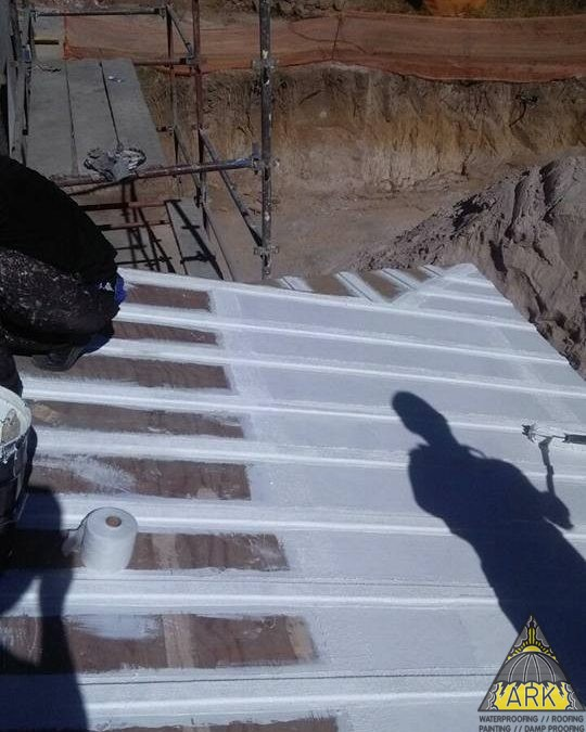 #liquidrubberwaterproofing waterproofing system