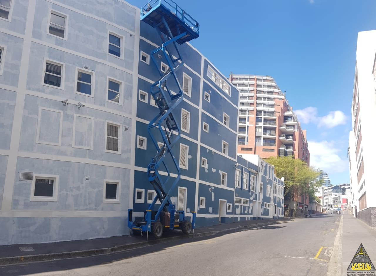 Painting project Cape Town CBD